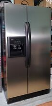 Kenmore  Stainless Steel Side by Side 25 cu ft Refrigerator