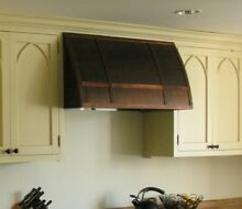 36  x 24 T Handcrafted Barrel Copper Range Hood Made to order   best quality USA