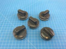 Genuine Whirlpool Range Oven Burner Knob W10160649 W10134131 W10134134 Set of 5