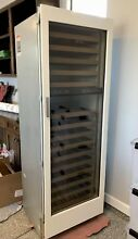 Sub Zero 427 G 27 Inch Built in Integrated Wine Storage Fridge Right Hand
