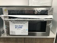 Monogram  ZSC1001JSS27 Inch Single Electric Wall Oven
