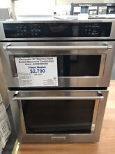 KitchenAid 30  Stainless Steel Built In Microwave Combination Oven   KOCE500ESS