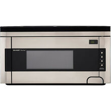 Sharp Stainless Steel 1 5 cu ft Sensor Cooking Controls Over The Range Microwave