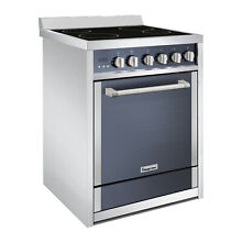 Magic Chef 24  Freestanding Electric Range in Stainless Steel Black