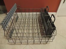 MAYTAG MODEL   MDB6709AWW1 TEFLON COATED BOTTOM DISHWASHER RACK W BASKETS