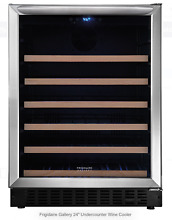 Frigidaire Stainless Steel FGWC4633SS 24  Undercounter Wine Cooler New