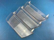 Genuine Kenmore Refrigerator Door Bin MAN63109001 ABQ74662101 Set of 3