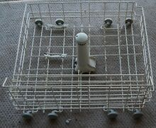 Used Jenn Air Dishwasher LOWER RACK ASSEMBLY  with Wheels and tower   W10139223