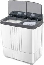 Washer and Spin Dryer Washing Machine RV Camping 16lbs Top Load Laundry Cleaner