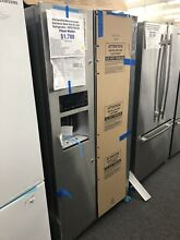 KitchenAid KRSC503ESS 36  Side by Side Refrigerator   Stainless Steel