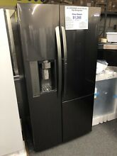 LG LSXS26366D 26 1 Cu  Ft  Side by Side Refrigerator   Black Stainless Steel