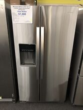 Whirlpool  WRS571CIHZ36 Inch Counter Depth Side by Side Refrigerator