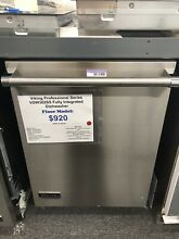 Viking Vdw302ss 24   Stainless Fully Integrated Dishwasher
