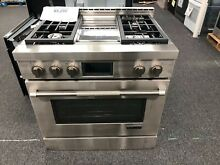 Jenn Air 36  Pro Style Stainless Steel Free Standing Gas Range   JGRP536WP