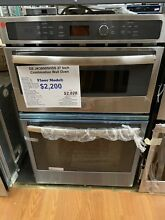 GE  JK3800SHSS27 Inch Combination Wall Oven