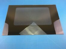 Genuine Kenmore Range Oven Outer Door Panel Glass WB56K10 WB56K0010