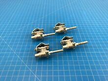 Genuine Whirlpool Range Oven Surface Burner Valve W10141709 W10182576 Set of 4