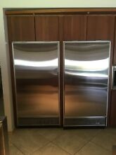 Sub Zero Refrigerator and Freezer Series 500   used