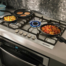 Hot 30  Stainless Steel 5 Burner Built in Stoves LPG Natural Gas Cooktops Cooker