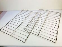 NEW Whirlpool Oven Rack W10268578  WPW10268578  Set of 2