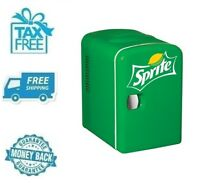 New Sprite Portable Mini Fridge Refrigerator Small Soft Drink Beverage Cooler
