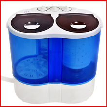 15 lbs Portable Compact Twin Tub Mini Washing Machine Camping Dorms Apartments