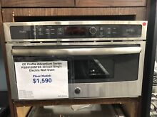GE Psb9120Sfss 30  Stainless Single Electric Wall Oven Nob