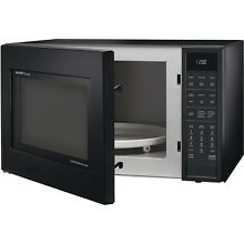 Sharp 1 5 Cu  Ft  900W Convection Microwave Oven  Black