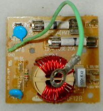 Brand new GE WB02X11244 SN UF12B Microwave Noise Filter Board