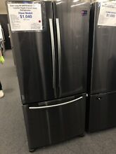 Samsung  RF18HFENBSG33 Inch Counter Depth French Door Refrigerator