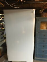 Ken more upright freezer  white used good condition 3 4 yrs old