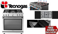 TECNOGAS RL361GPSS Stainless steel 36 Inch Sealed Burners La Cucina Range