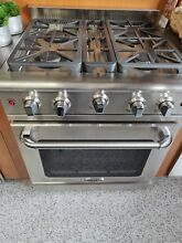 CAPITAL MCR304N 30  4 Burner Stainless Steel Gas Range