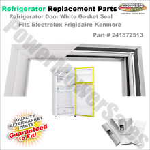 241872513 Refrigerator Door White Gasket Seal fits Electrolux Frigidaire Kenmore