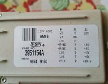 3951154A Whirlpool Kenmore Washer Timer FREE USA SHIPPING