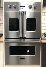 Viking Professional 7 Series  VDOF7301SS 30 Inch French Door Double Wall Oven