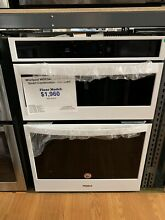 Whirlpool  WOC54EC0HW30 Inch Smart Combination Wall Oven