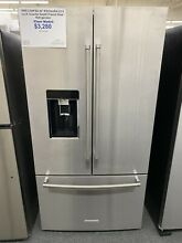 KRFC704FSS 36  KitchenAid 23 8 cu ft  Counter Depth French Door Refrigerator