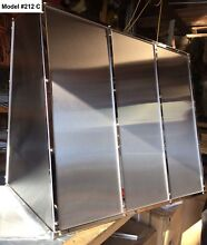 Stainless Vent Hood  Range Fan Incl  Custom Sizes All Metals avai   Model  212C