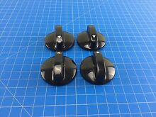 Genuine Maytag Range Oven Burner Control Knob 74009232 Set of 4