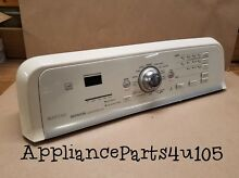 Maytag Bravos Washer console with Control Board W10258434