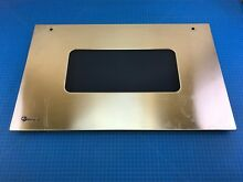 Genuine GE Monogram Build In Oven Outer Door Panel Glass WB36X10011