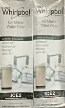 Whirlpool F2WC9l1 ICE2 Ice Maker Water Filter 2 Pack