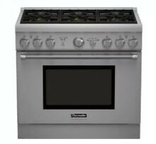 Thermador PRG366GH Pro Harmony Series 36 Inch Natural Gas Freestanding Range