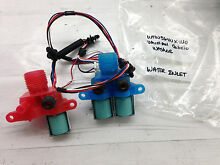Whirlpool Cabrio Washer Water Inlet Hot Cold W10240949 Mdl WTW5640XWO Part  AG