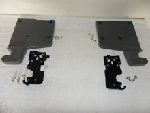 SAMSUNG RSG257AARS SIDE BY SIDE FRIDGE UPPER DOOR HINGES AND COVERS FREE SHIP