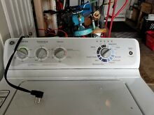 Washer machine GE heavy duty  used 3 years Good condition  Pick up only