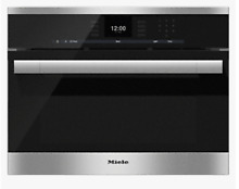 Miele DGC 6500  24  Steam oven with full fledged oven function and XL cavity New