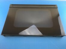 Genuine GE Microwave Oven Outer Door Panel Glass Assembly WB57T10091