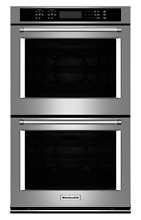 KitchenAid 30  Stainless Steel Electric Double Convection Oven New